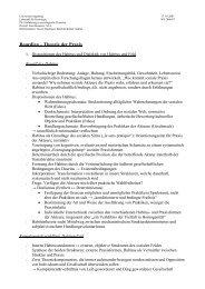 Bourdieu – Theorie der Praxis - Universität Augsburg