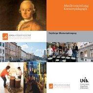MA-Musikvermittlung-Flyer - Universität Augsburg