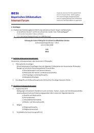 BESt Bayerisches Ethikstudium Internet Forum