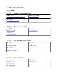 GK Mittwoch (WS 07/08), Bosancic Referatsgruppen 30./31.10. (1 ...