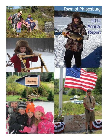 Town of Phippsburg 2012 Annual Report
