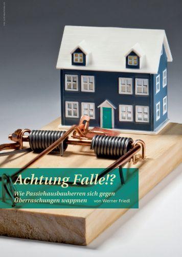 Leseprobe (PDF) - Passivhaus Kompendium