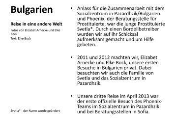 Bericht mit Bildern - Phoenix Beratung Hannover