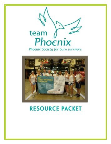 Resource Packet - Phoenix Society