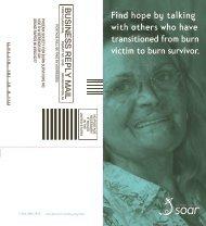 SOAR brochure - The Phoenix Society for Burn Survivors, Inc.