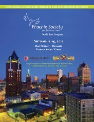 September 12-15, 2012 - The Phoenix Society for Burn Survivors, Inc.