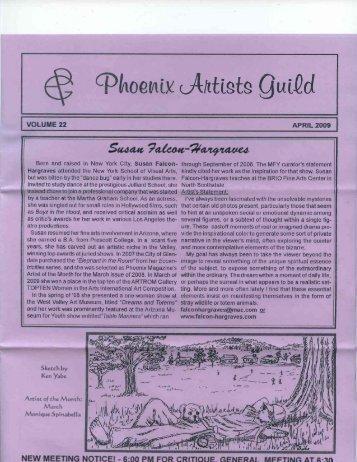 Apr. 2009 - Phoenix Artists Guild