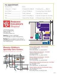 Satellite office notepads - Phoenix Children's Hospital