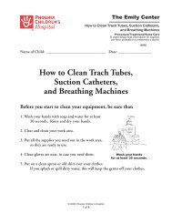 How to Clean Trach Tubes, Suction Catheters, and Breathing ...