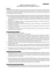 Proctoring Policy - Phoenix Children's Hospital