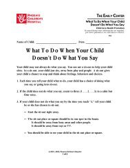What to Do When Your Child Doesn't Do What You Say #82