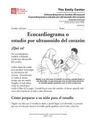 Ecocardiograma o estudio por ultrasonido del corazón - Phoenix ...