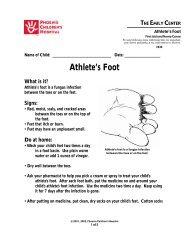 Athlete's Foot #630 - Phoenix Children's Hospital