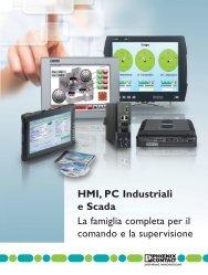 HMI, PC Industriali e Scada La famiglia completa ... - Phoenix Contact