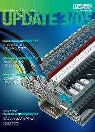 Customers Magazine UPDATE, Edizione 3/2005 - Phoenix Contact ...