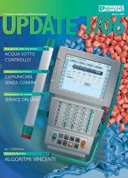 Customers Magazine UPDATE, Edizione 1/2006 - Phoenix Contact ...
