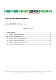 List of supported devices from the current DTM ... - Phoenix Contact