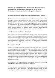 Interview 1: - Faktum
