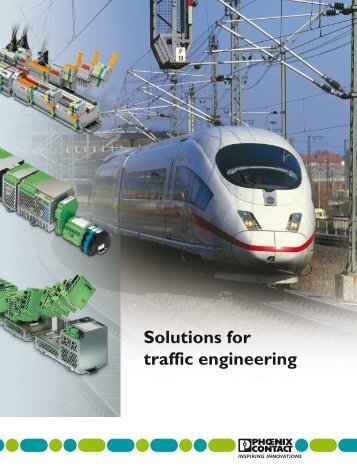 Solutions for traffic engineering - Phoenix Contact Italia