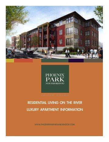 Download Leasing Brochure PDF - Phoenix Park Neighborhood