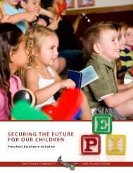 Securing The FuTure For our children - Government of Prince ...