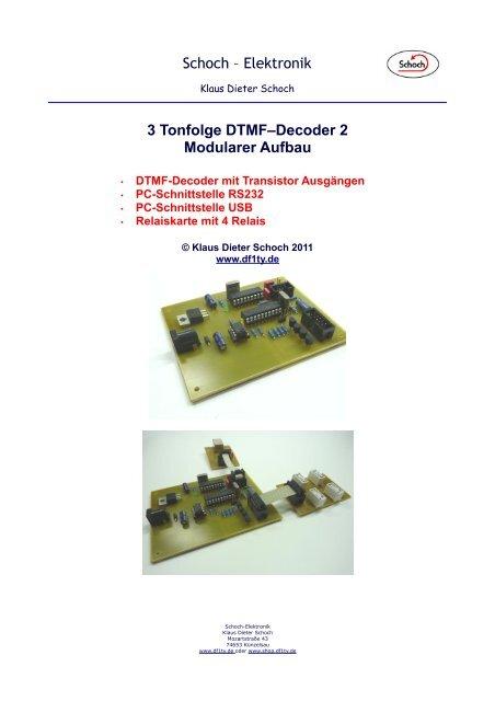 3  Der DTMF-Decoder 2 - Df1ty