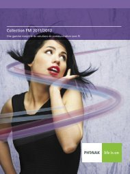 FM Collection 2011/2012 Professional Brochure - Phonak