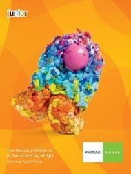 The Phonak portfolio of pediatric hearing delight