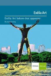 Bruksanvisning Exélia Art bakom-örat apparater - Phonak