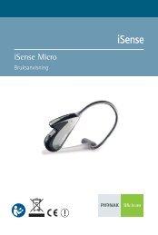 Bruksanvisning iSense Micro - Phonak