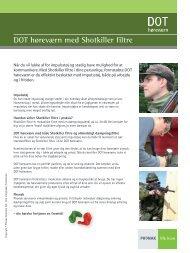 DOT høreværn med Shotkiller filtre - Phonak