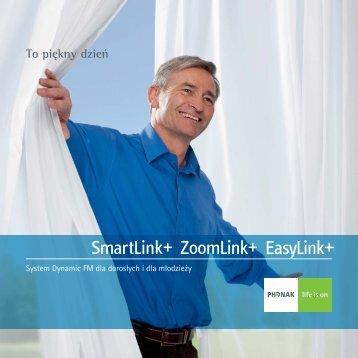 Broszura SmartLink+, ZoomLink+ i EasyLink+ - Phonak
