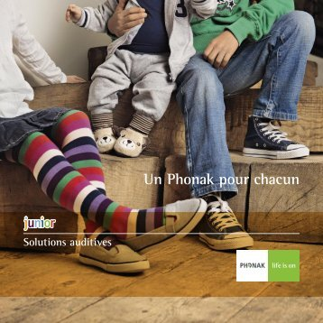 Solutions Auditives Junior - Phonak