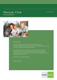 Phonak Club
