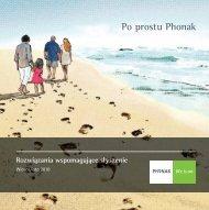 Broszura wiosna/lato 2010 - Phonak