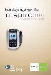 inspiro - instrukcja użytkowania - Phonak