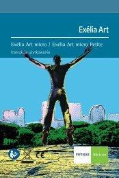 Instrukcja użytkowania Exélia Art micro BTE - Phonak