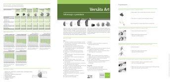 Informacje o produkcie Versáta Art - Phonak