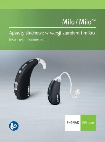 Aparaty słuchowe w wersji standard i mikro - Phonak