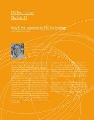 FM Technology Chapter 14 New Developments in FM ... - Phonak