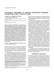 Successful treatment of Auditory Perceptual Disorder in ... - Phonak
