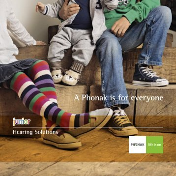 Junior Hearing Solutions - Phonak
