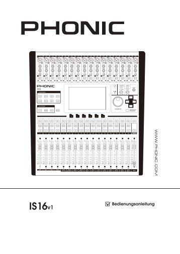 phonic powerpod 740 service manual