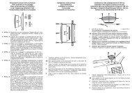 Componenti presenti nella confezione Parts contained in ... - Phonocar