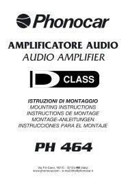 PH 464 - Phonocar