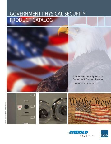 government physical security product catalog - Diebold