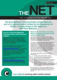 TPHN Newsletter February 2008 - PHORCaST