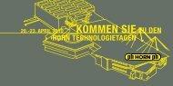 Kommen Sie zU den - Hartmetall-Werkzeugfabrik Paul Horn GmbH