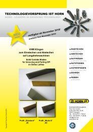 System HCC - Paul Horn GmbH