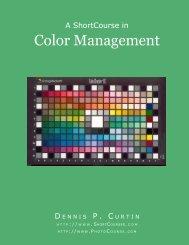 Color Management - PhotoCourse